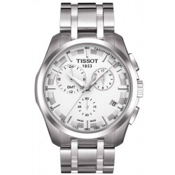 Tissot Herrenuhr T-Classic Couturier GMT T0354391103100 Chronograph