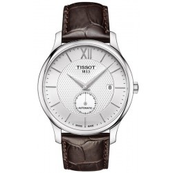 Tissot Herrenuhr Tradition Automatic Small Second T0634281603800