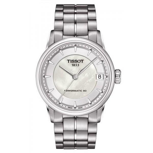 Kaufen Sie Tissot Damenuhr Luxury Powermatic 80 T0862071111100