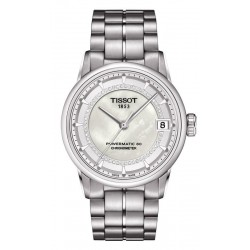 Kaufen Sie Tissot Damenuhr Luxury Powermatic 80 COSC T0862081111600