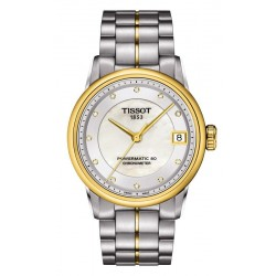 Kaufen Sie Tissot Damenuhr Luxury Powermatic 80 COSC T0862082211600