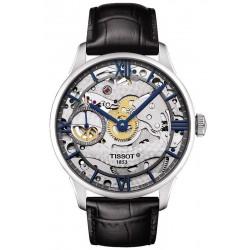 Kaufen Sie Tissot Herrenuhr Chemin des Tourelles Squelette Mechanical T0994051641800