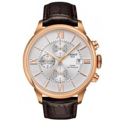Kaufen Sie Tissot Herrenuhr Chemin Des Tourelles Automatic Chronograph T0994273603800